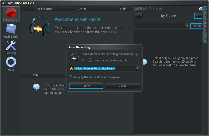 how to get audacity to record internet radio