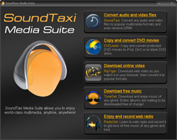 SoundTaxi Media Suite - screenshot